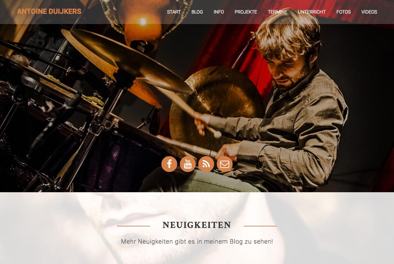 Schneemann Webdesign: Antoine Duijkers