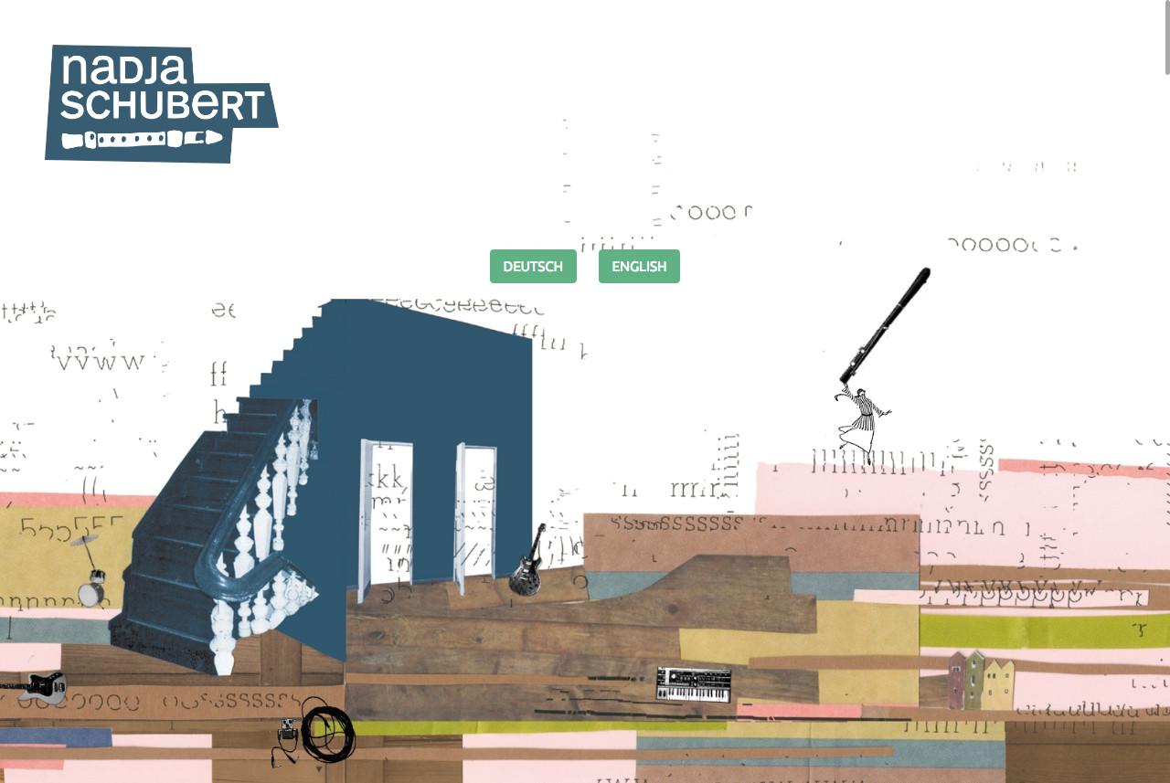 Schneemann Webdesign: Nadja Schubert